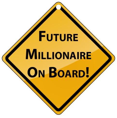 Millionaire Sign