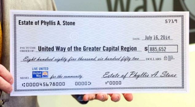 Phyllis Stone Check
