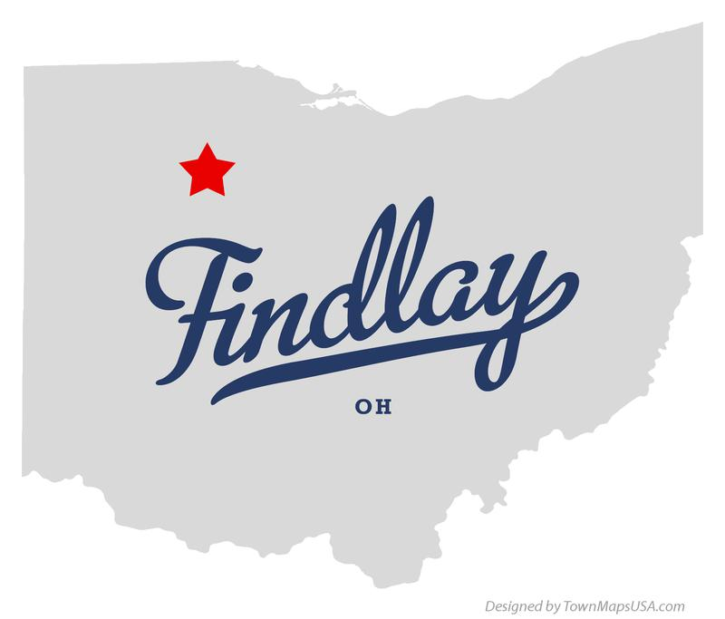 map_of_findlay_oh