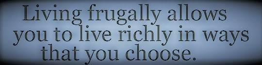 Frugal Saying (3)