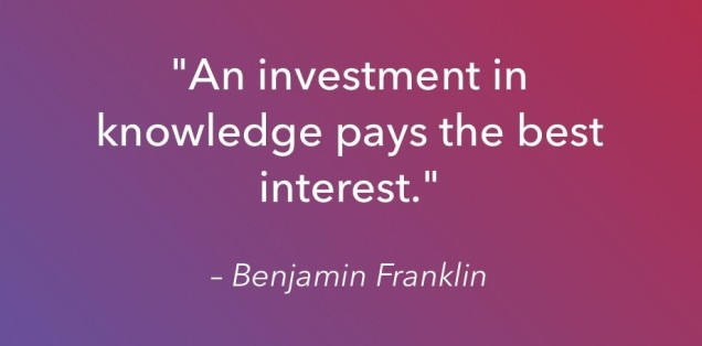 Investment In Knowledge (2)
